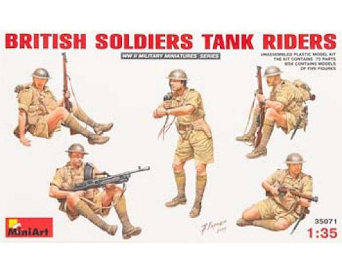 35071 1/35 British Tank Riders (5) by MiniArt