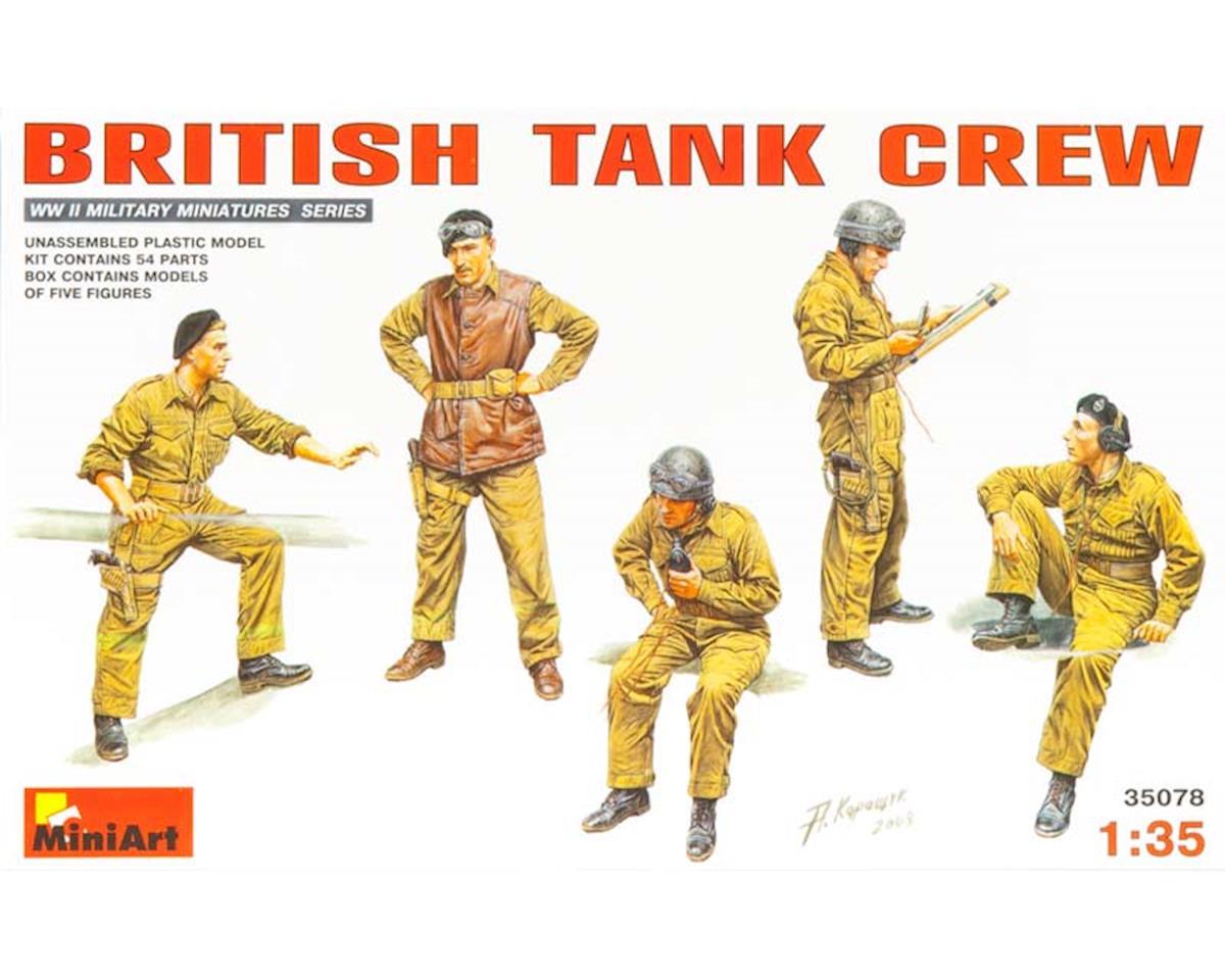 MiniArt 35078 1/35 British Tank Crew (5)