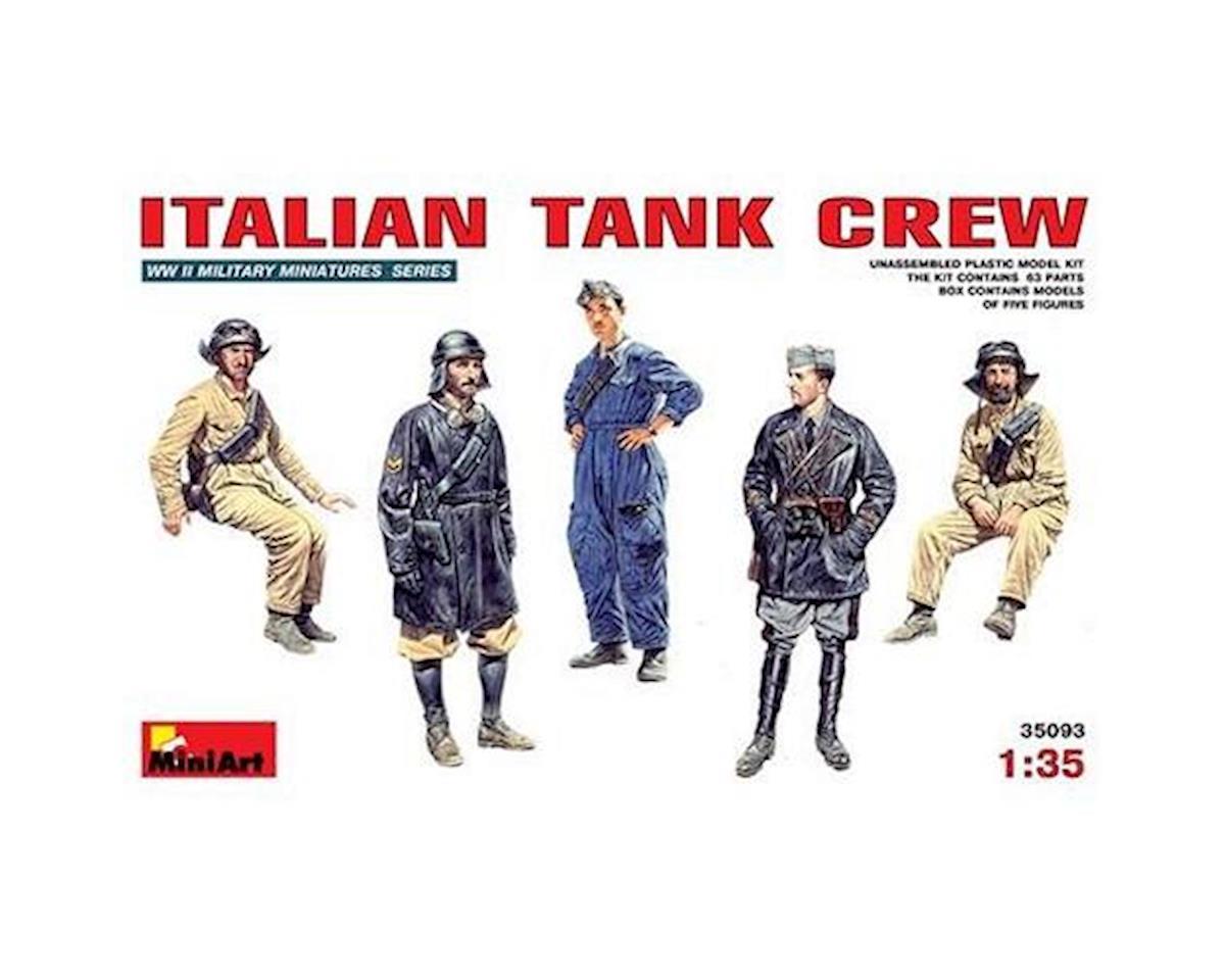 1/35 Italian Tank Crew (5)