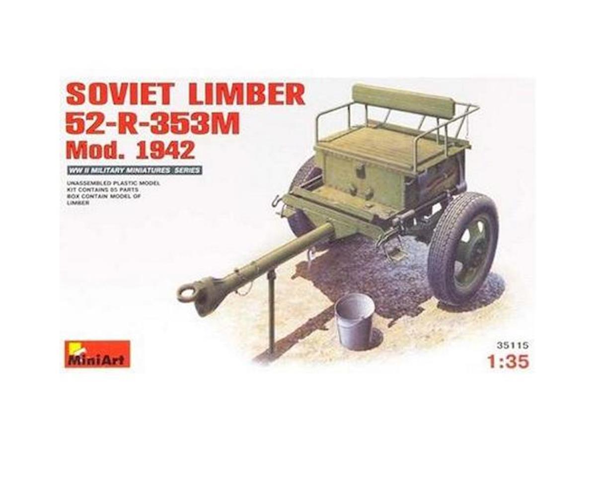 1/35 Soviet Limber 52-R-353M Mod 1942