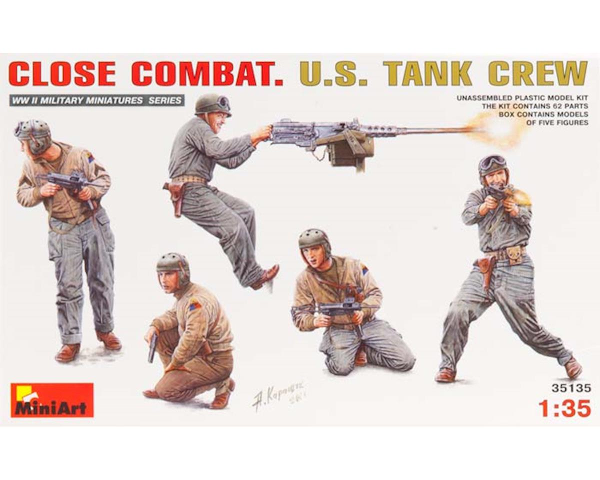 35135 1/35 Close Combat WWII US Tank Crew (5) by MiniArt