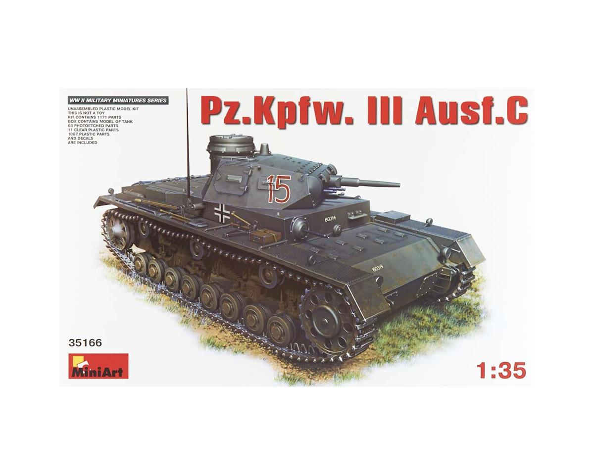 MiniArt 35166 1/35 PzKpfw III Ausf C Tank