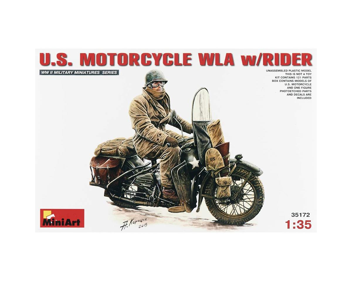 MiniArt 35172 1/35 US Motorcycle WLA w/Rider