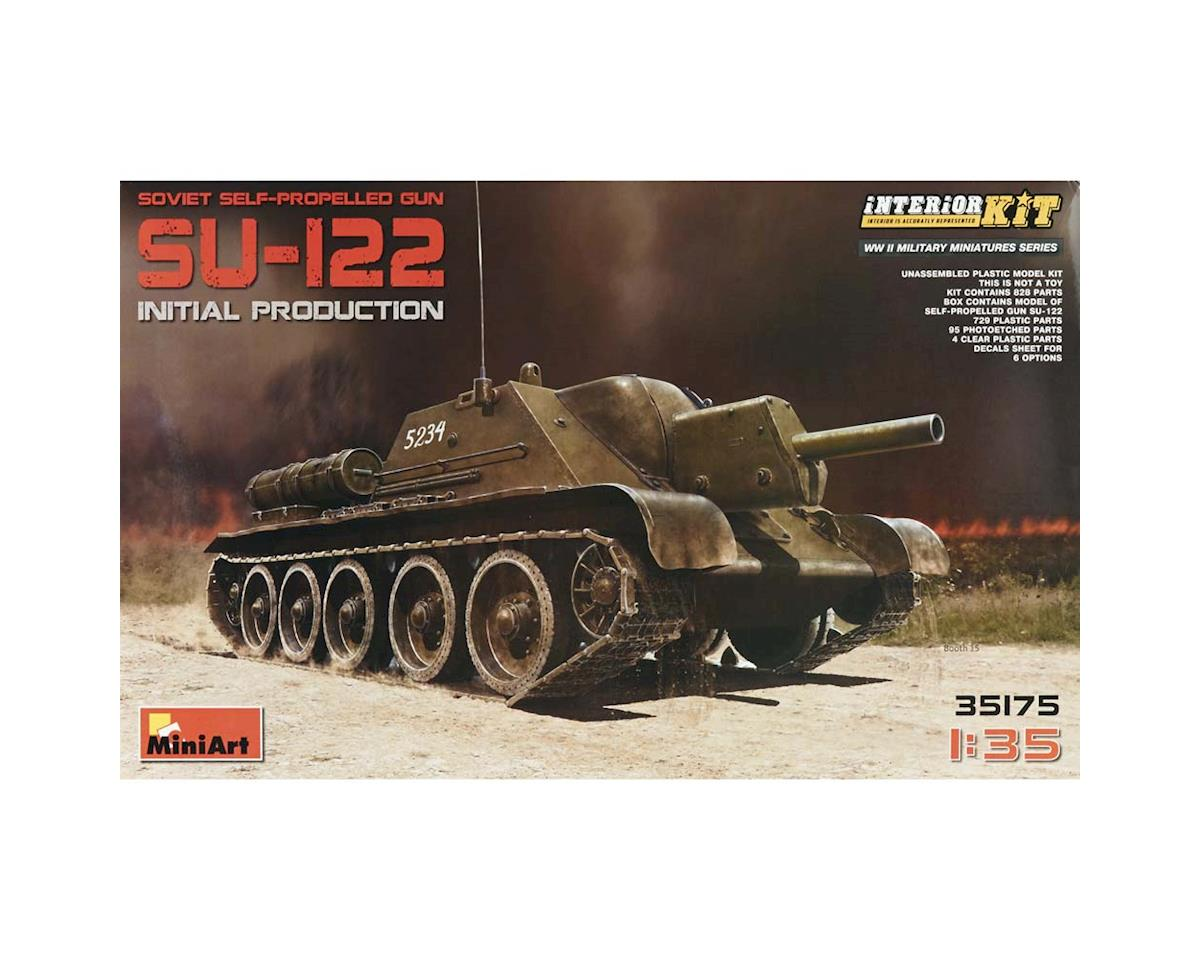1/35 Su122 Soviet Self-Propelled Tank