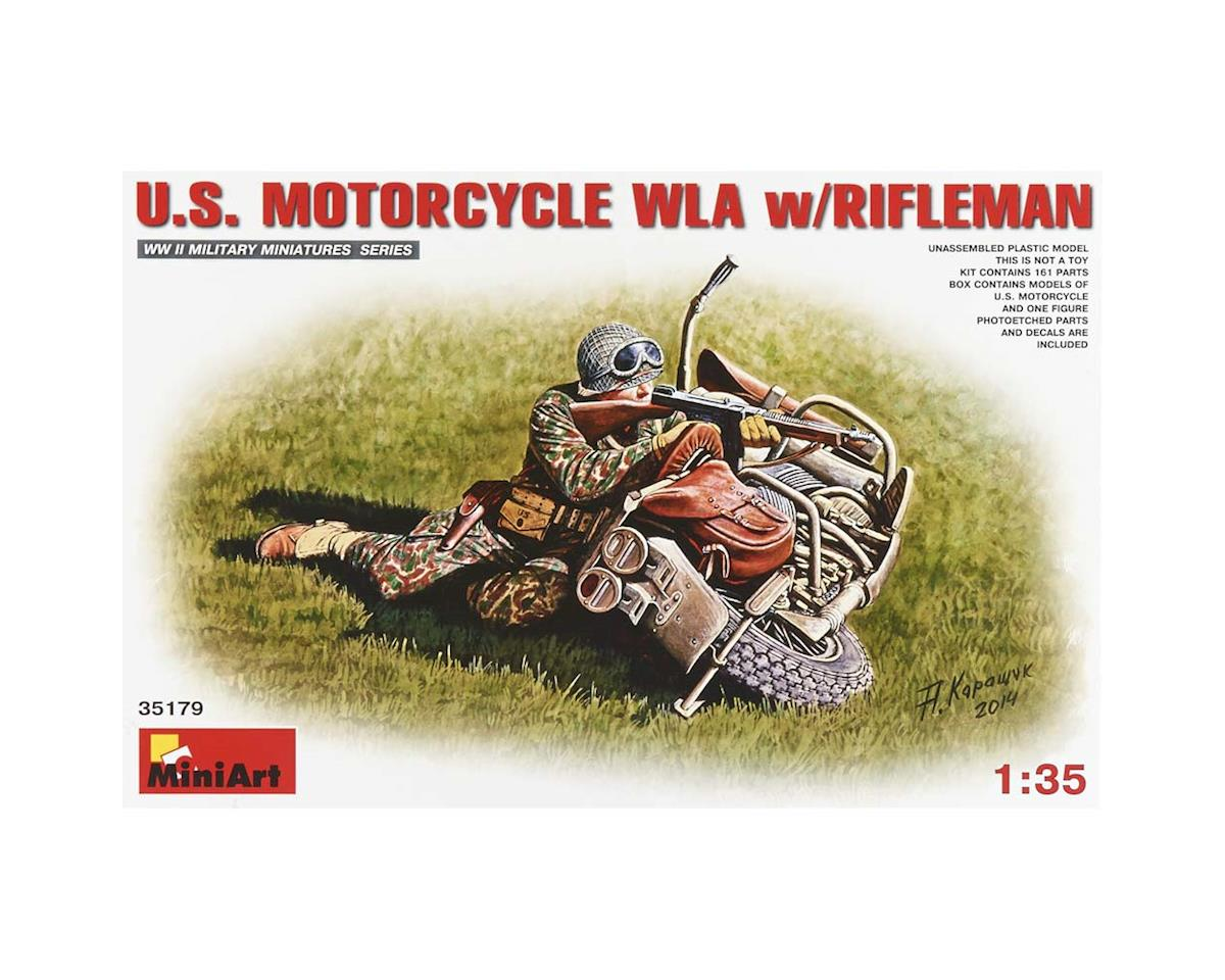 35179 1/35 US Motorcycle WLA w/Rifleman