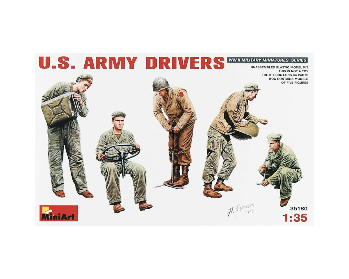 35180 1/35 WWII US Army Drivers (5) by MiniArt