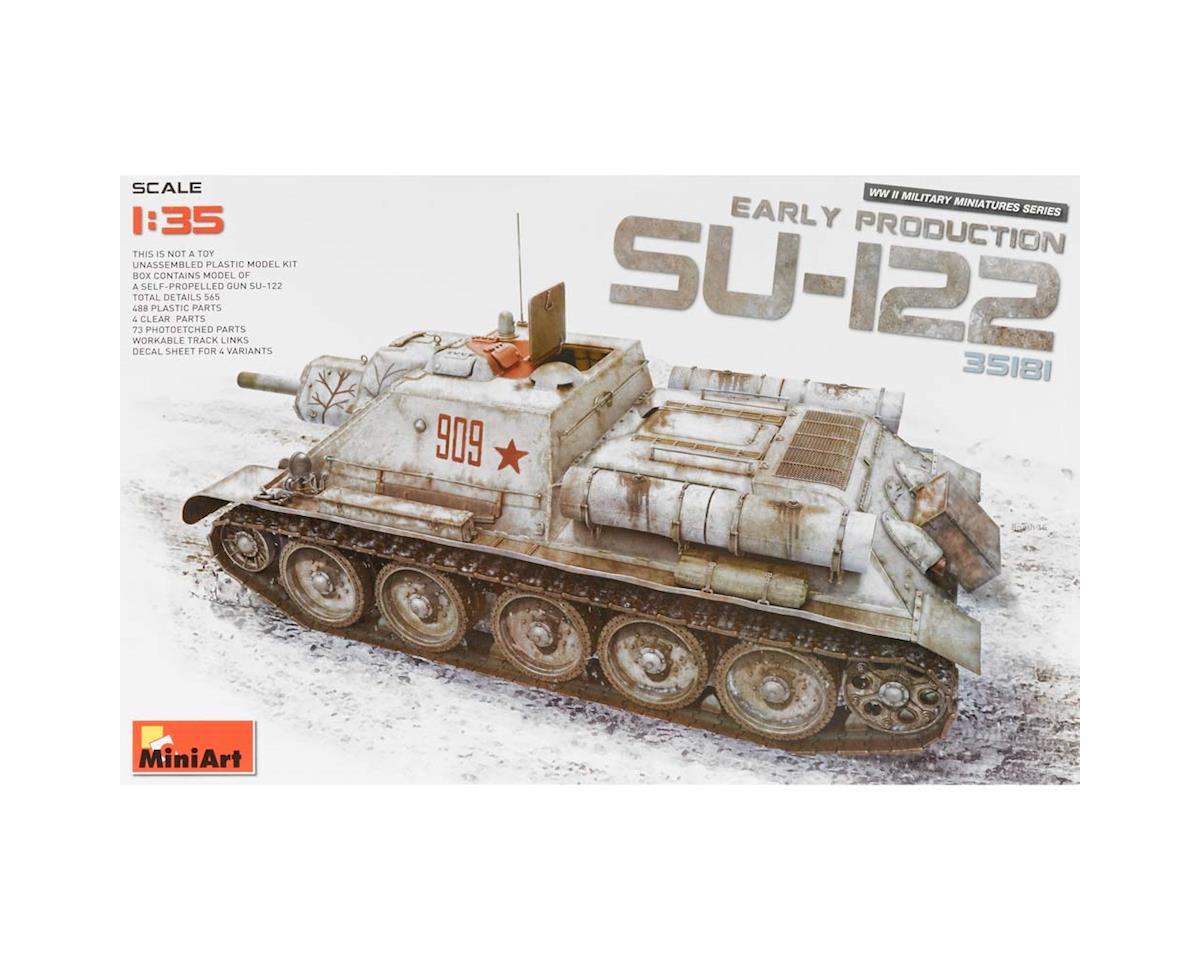 35181 1/35 SU-122 Early Production No Interior by MiniArt