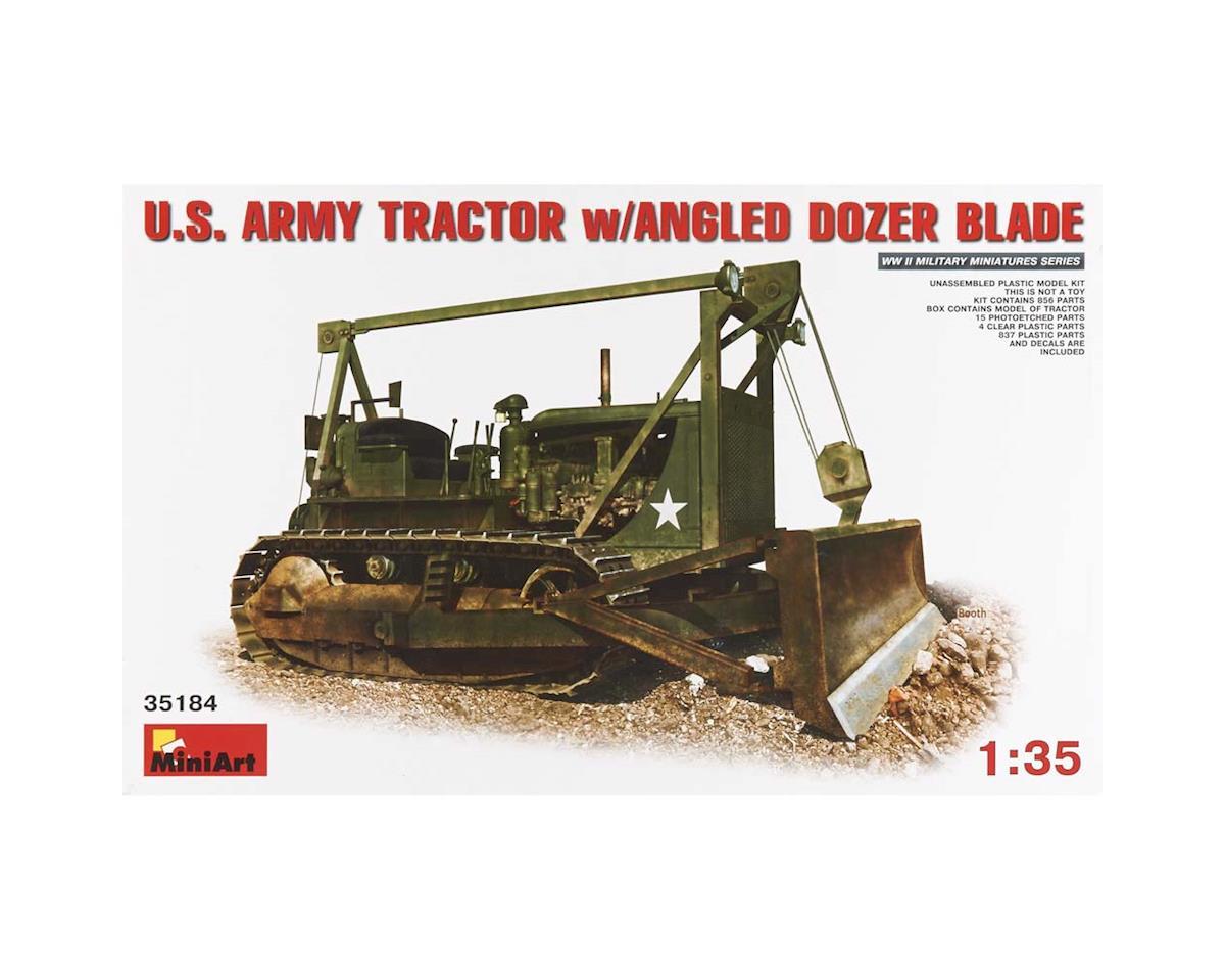 35184 1/35 US Army Tractor w/Angle Dozer by MiniArt