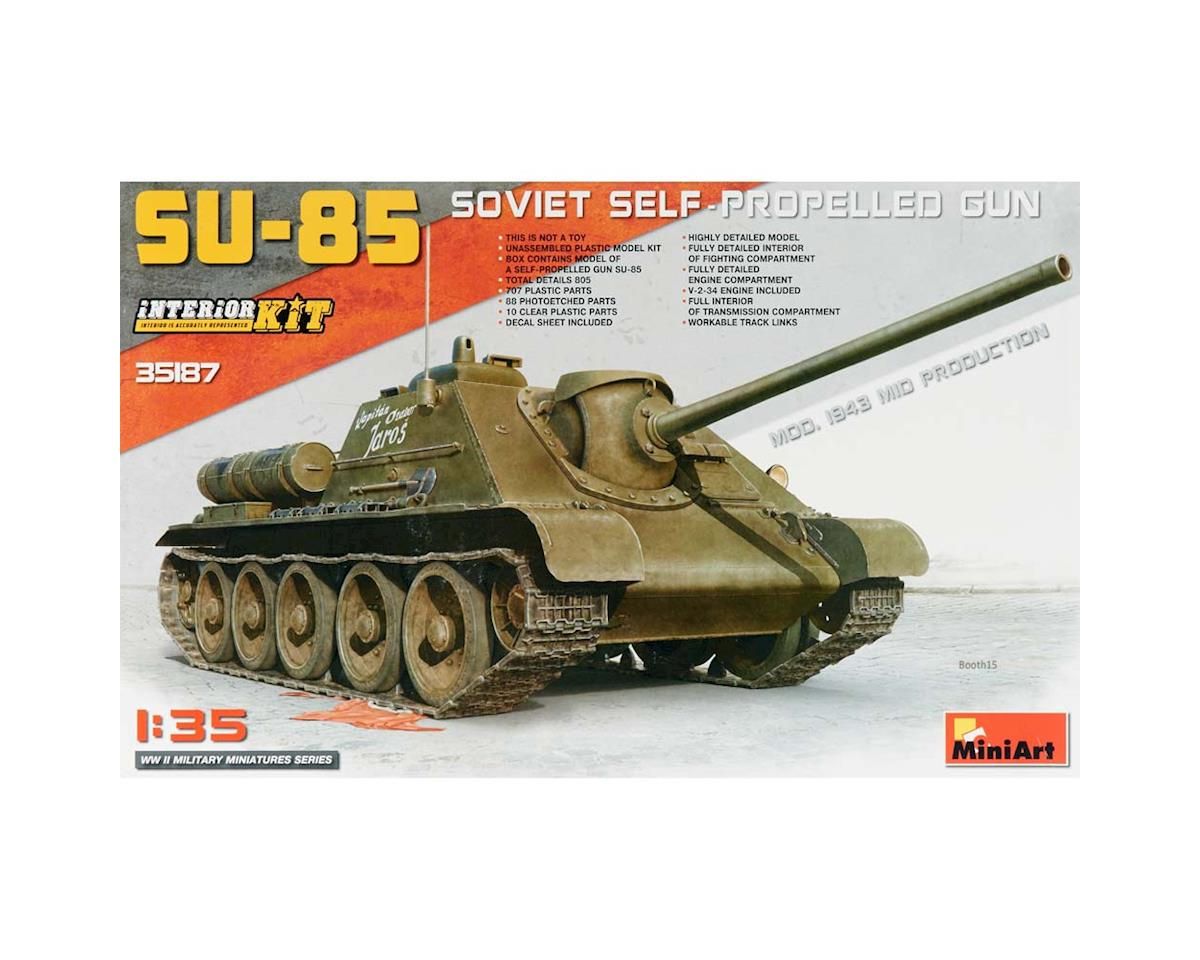 MiniArt 1/35 SU-85 Soviet Self-Propelled Gun w/Full Int