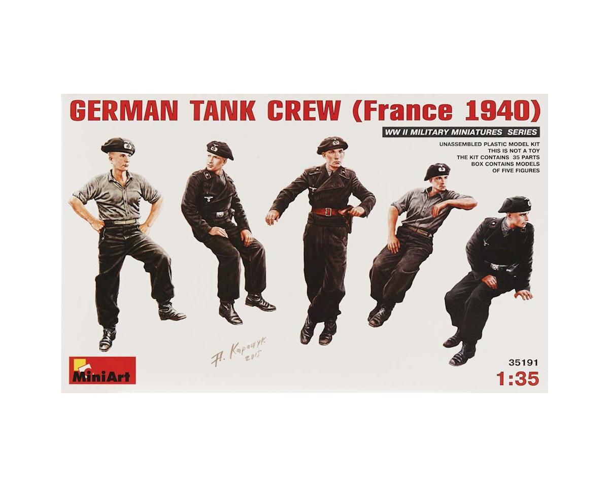 35191 1/35 German Tank Crew France 1940 (5)
