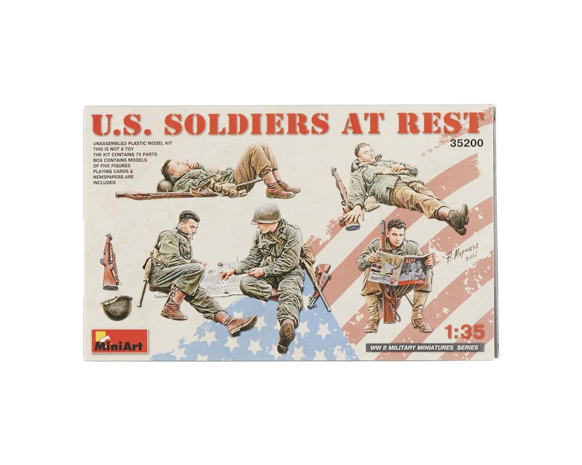 MiniArt 35200 1/35 US Soldiers At Rest (5)