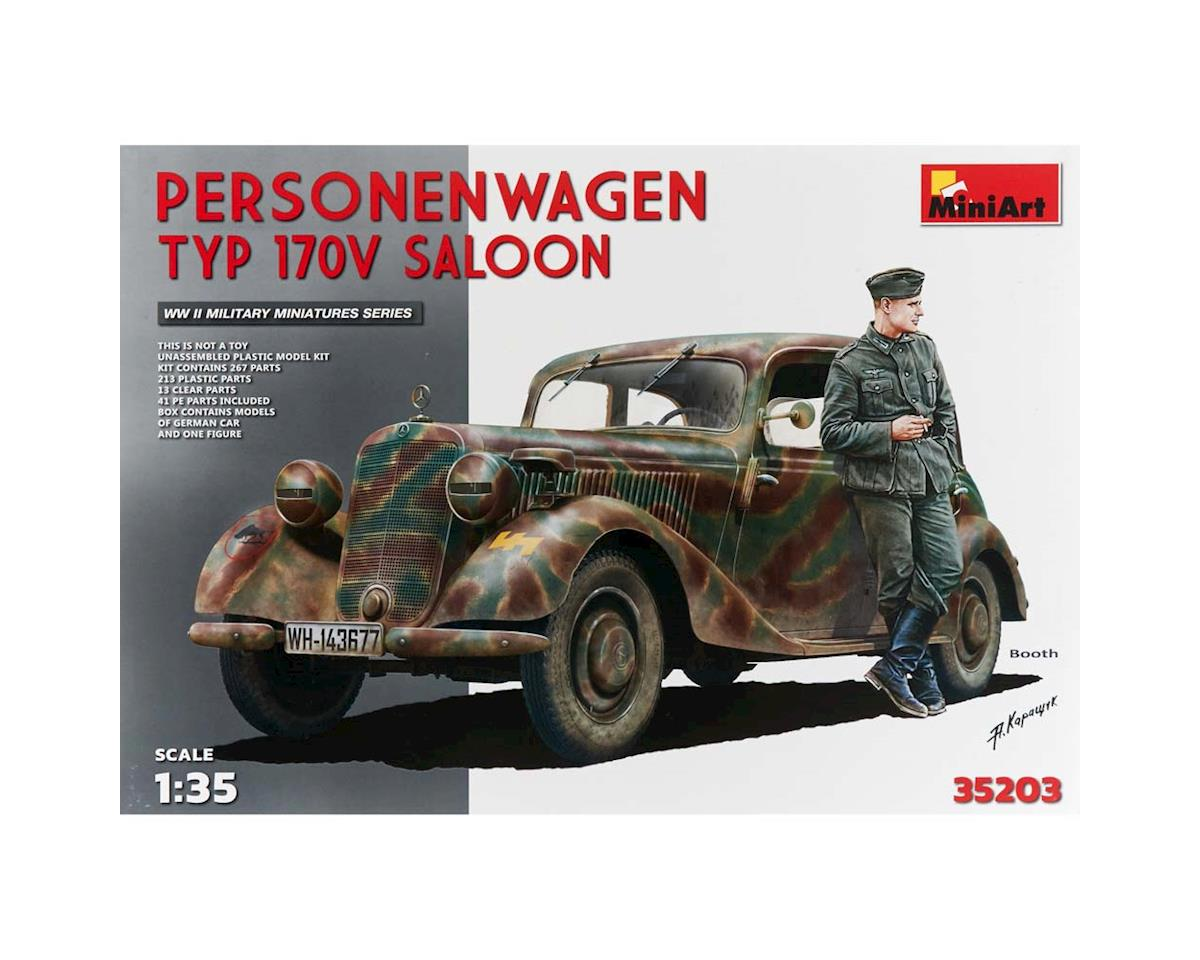 MiniArt 1/35 Type 170V Saloon 4-Door Personnel Car