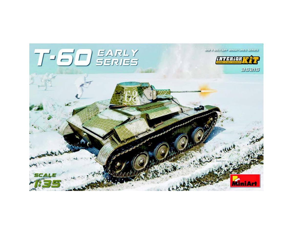 35215 1/35 WWII Soviet T60 Early Series Lt Tank w/Intr