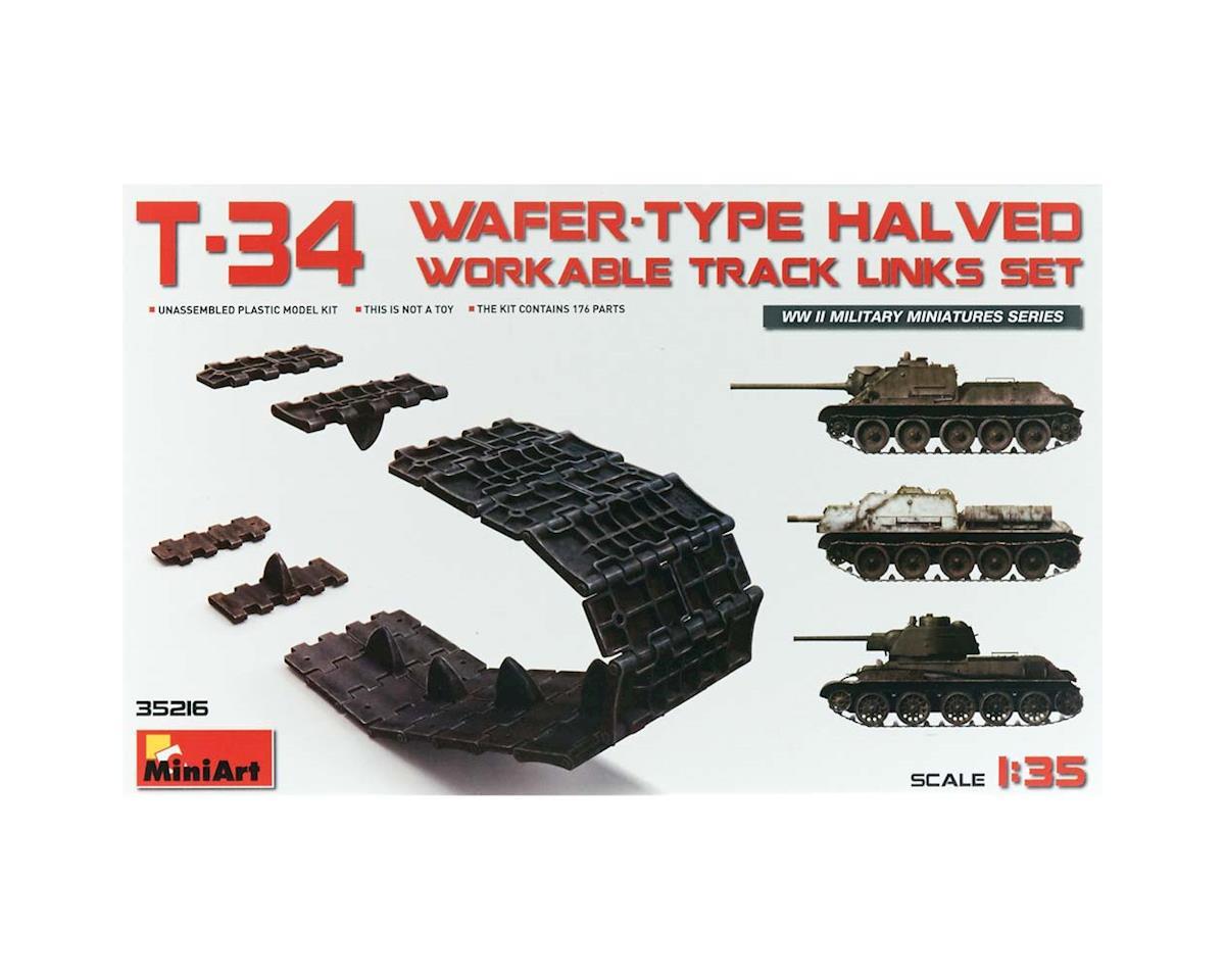 35216 1/35 T34 Wafer-Type Halved Workable Track Link Se