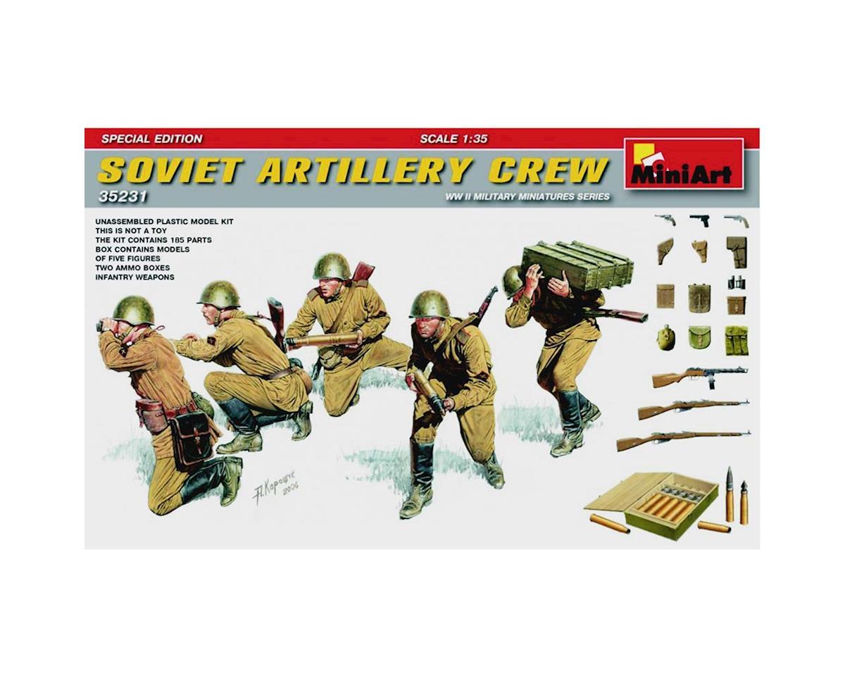 MiniArt 35231 1/35 WWII Soviet Artillery Crew w/Ammo & Weap(5)