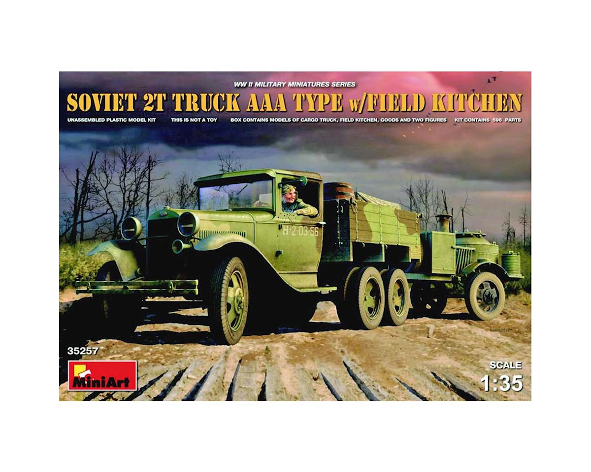 35257 1/35 WWII Soviet 2T AAA Type Truck w/Kitchen