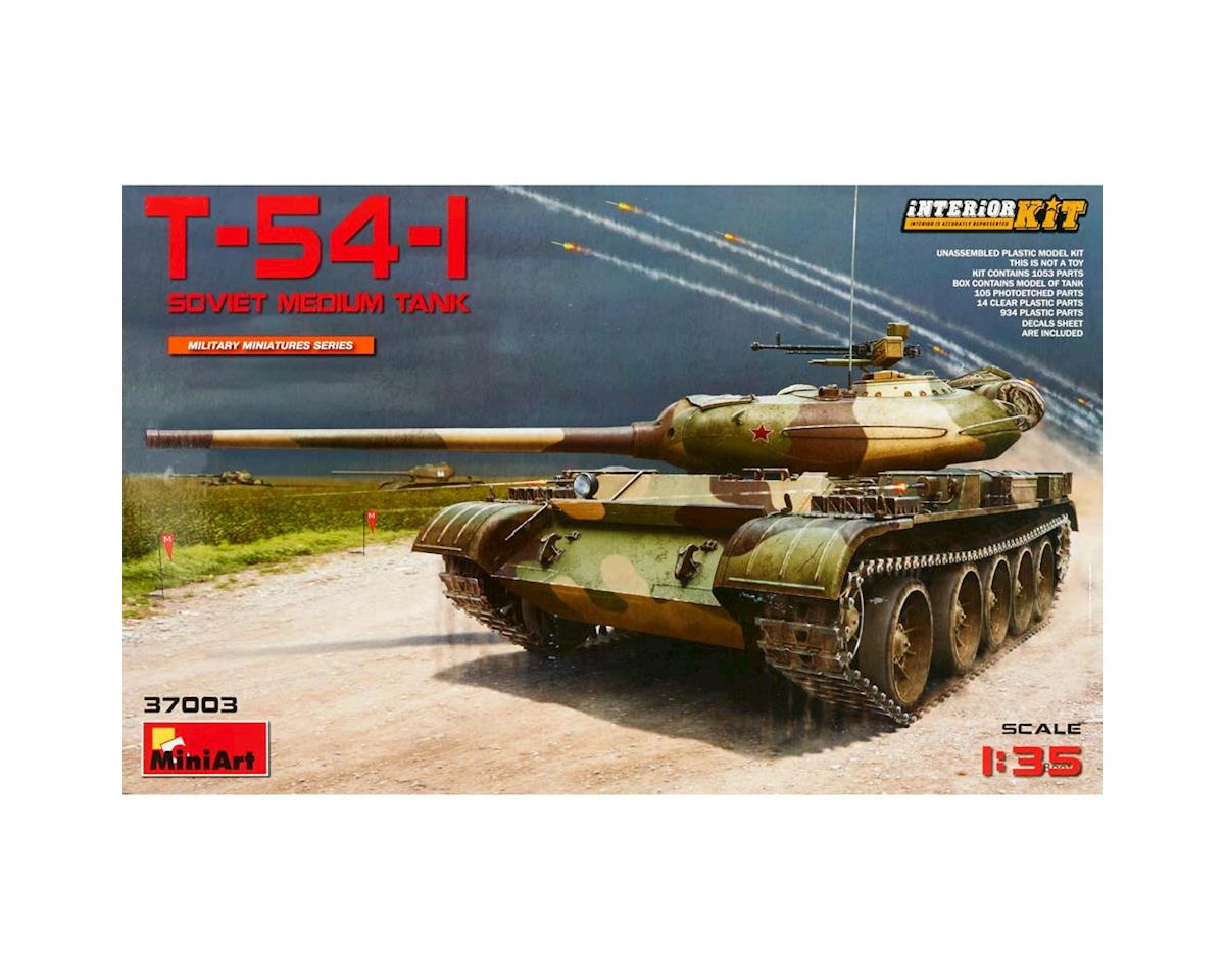 37003 1/35 Soviet T54-1 Medium Tank w/Full Interior