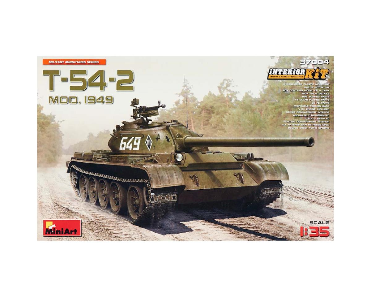 MiniArt 37004 1/35 Soviet T54-2 Medium Mod 1949 Tank w/Full Int