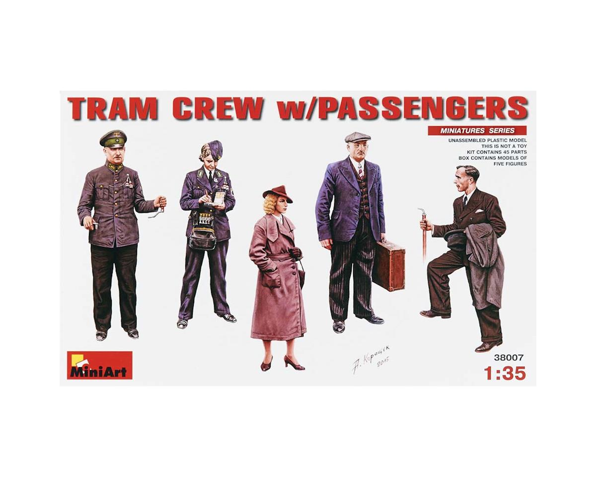 MiniArt 38007 1/35 Tram Crew w/Passengers for use w/38003