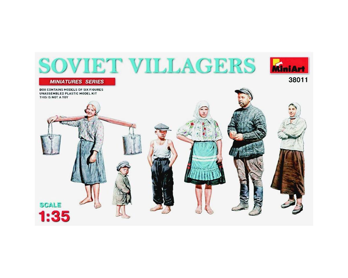 MiniArt 38011 1/35 Soviet Villagers (6)