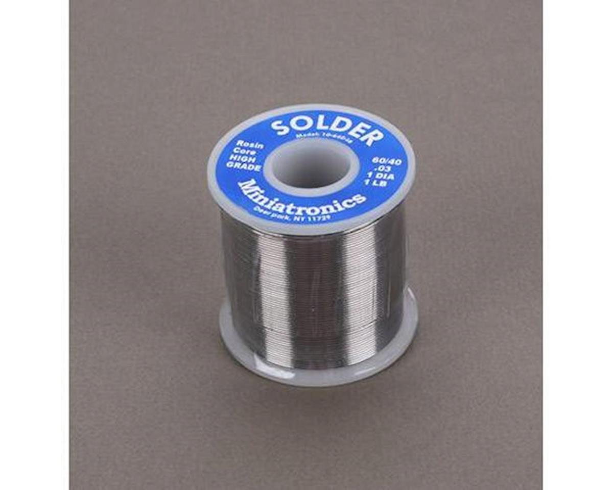 Rosin Core Solder 60/40 (1lb)
