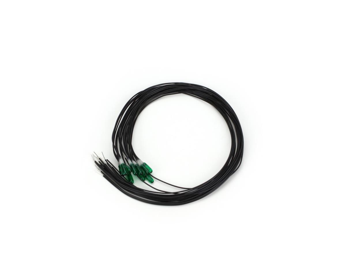 Miniatronics 12v 2.4mm Dia. Incandescent Lamp Green (10)