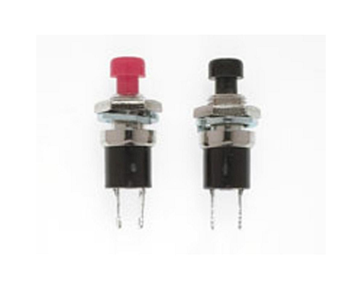 "SPST Momentary Switch, N/O 1/4"" (2)"
