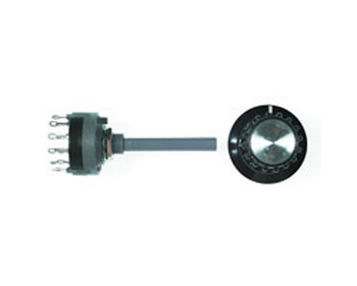 Rotary 6 Position Switch 2 Pole