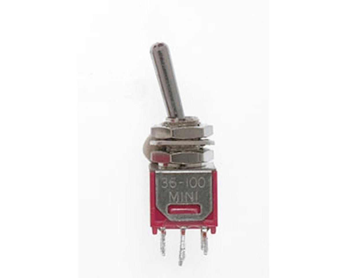 Miniatronics DPDT 3amp 120v Sub Miniature Toggle Switch (2)