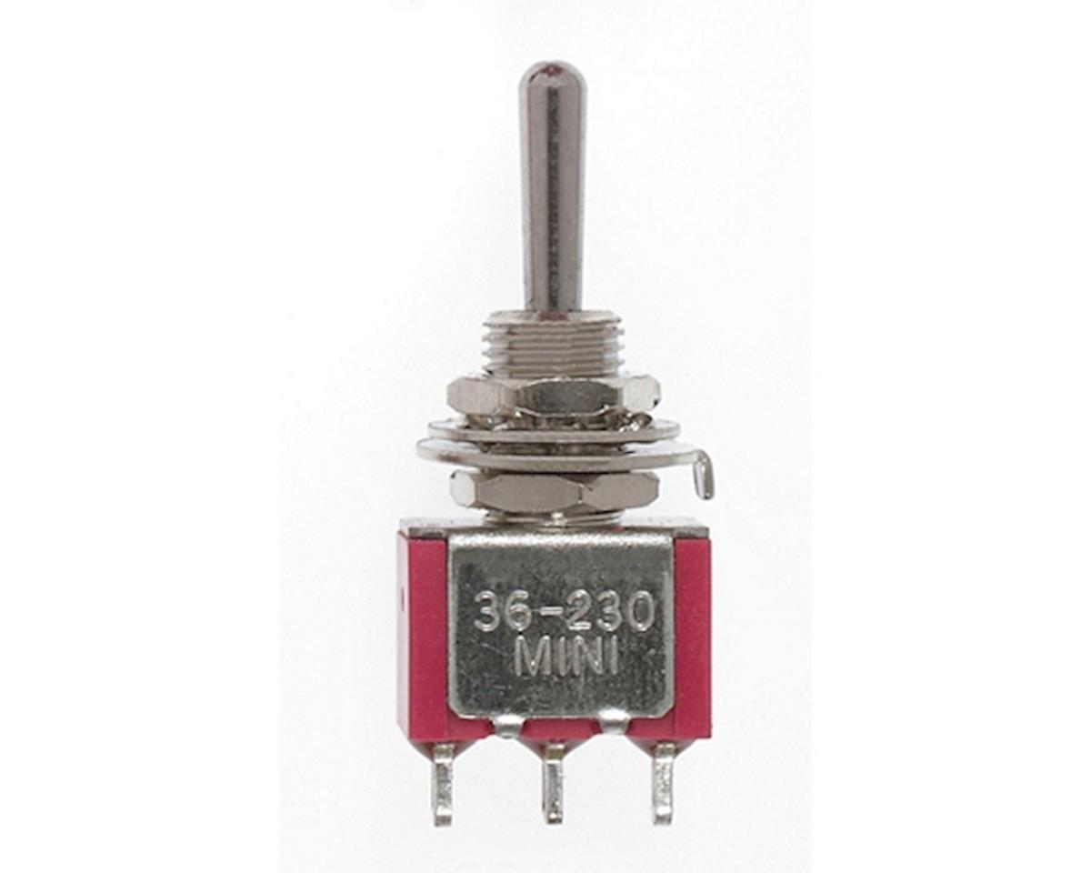 Miniatronics SPDT 5amp 120v Center Off Miniature Toggle Switch
