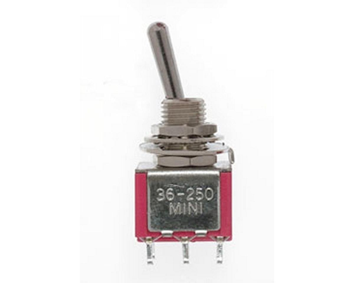 Miniatronics DPDT Mini T/Switch 5AMP 120V (4)
