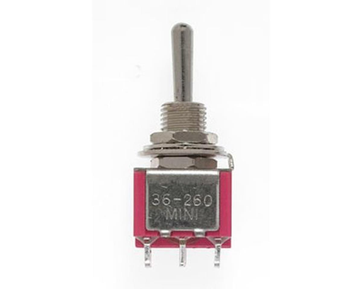 Miniatronics DPDT Mini t/Switch 5AMP 120V C/O(8)