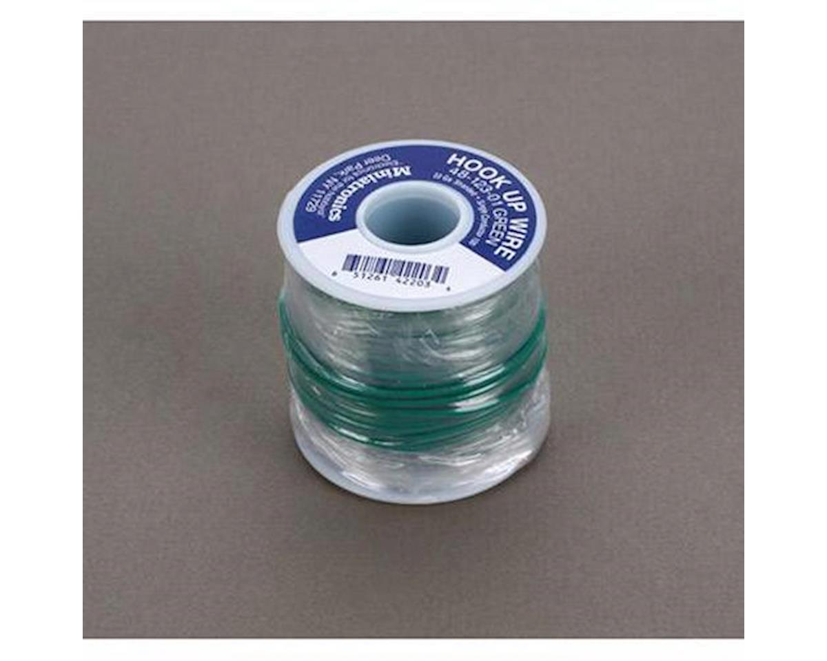 100' Stranded Wire 22 Gauge, Green