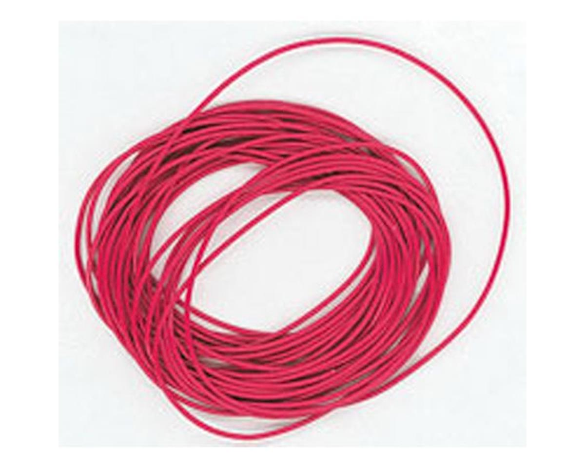 Miniatronics 10' Strand Ultra FlexWire 30 Gauge, Red
