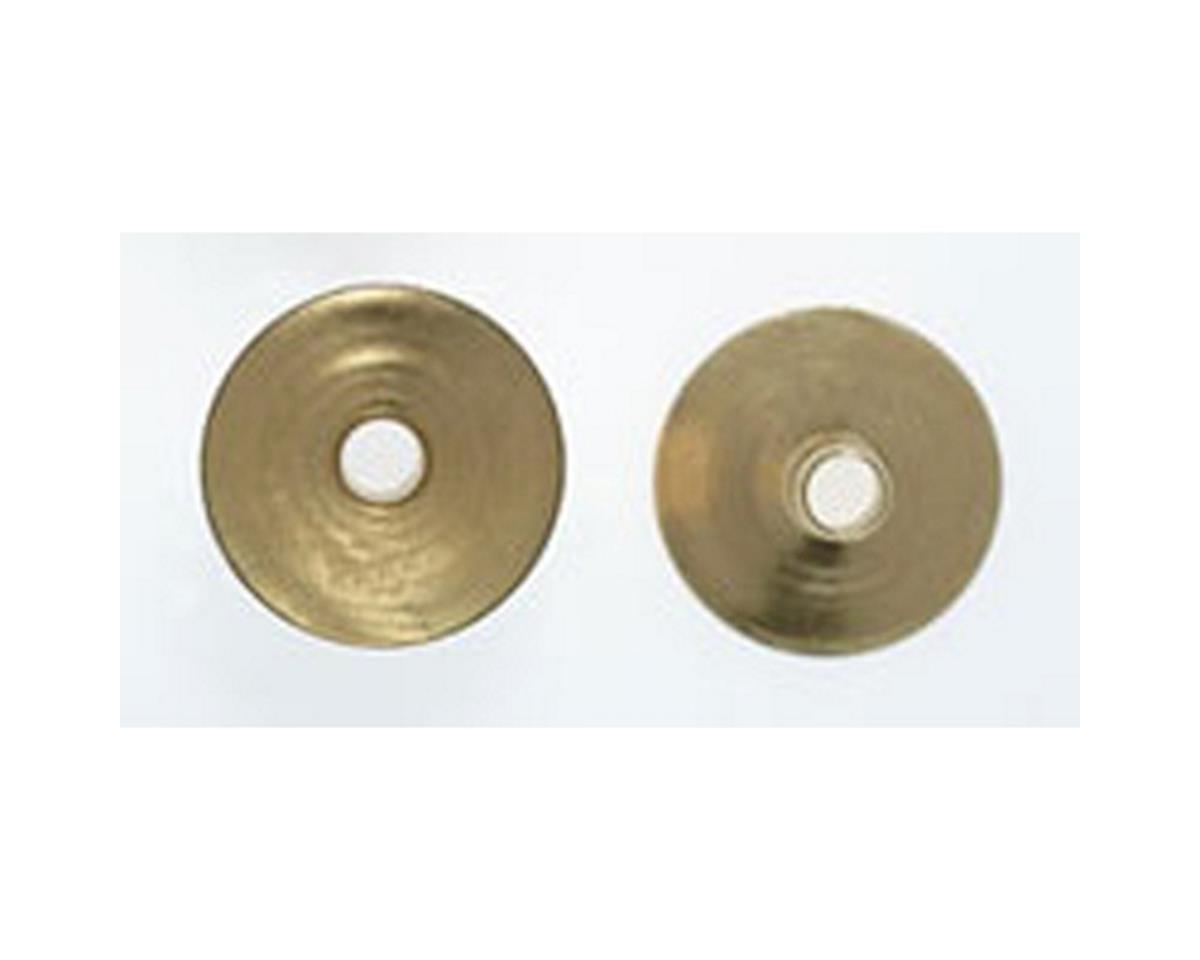 Miniatronics HO Lampshades, Brass (10)