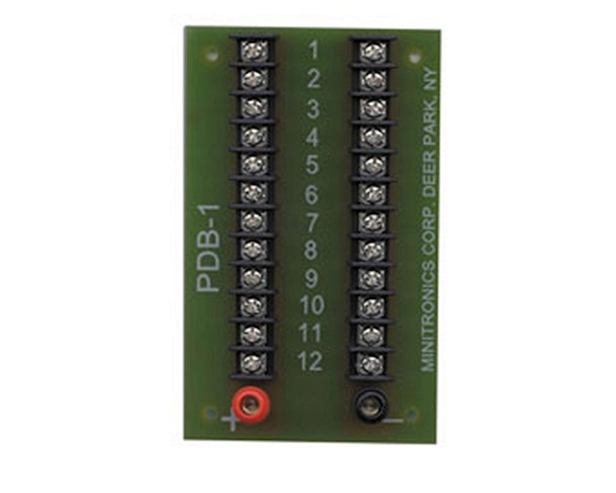 Miniatronics 12-Position Prewired Power Distribution Block