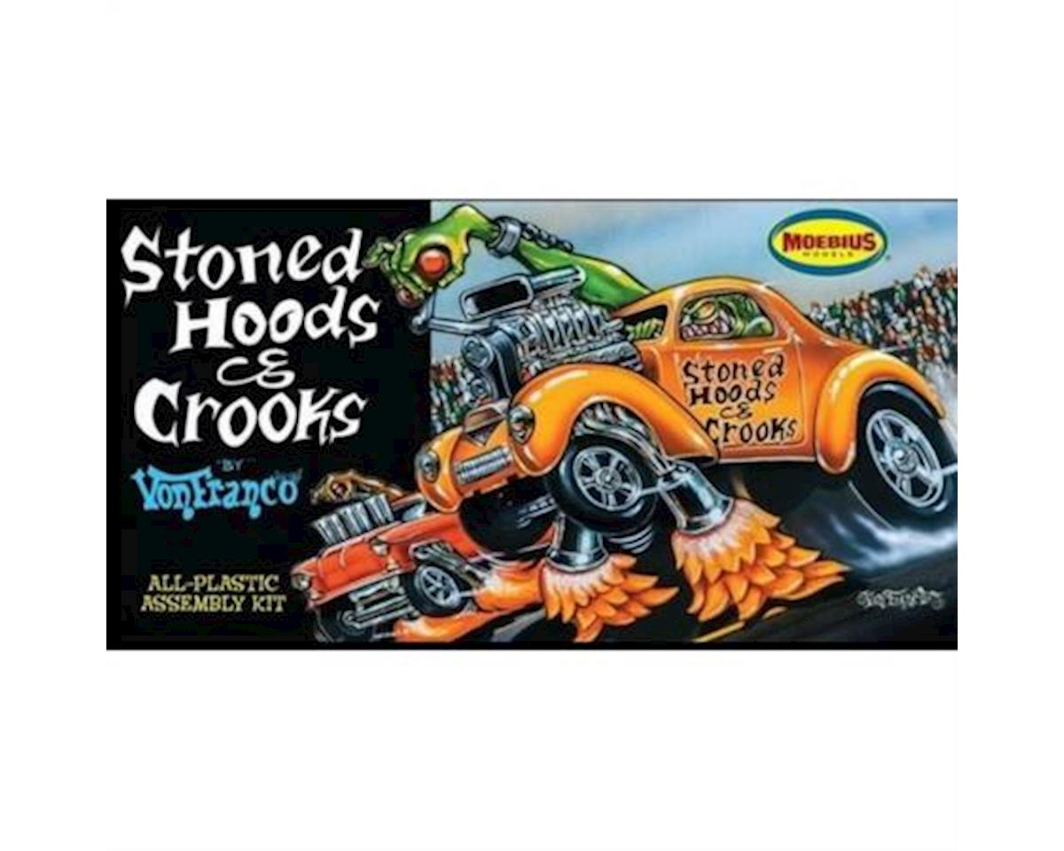 Moebius Models  1/25 Von Franco's Stoned Hoods & Crooks Custom Car by Moebius Model