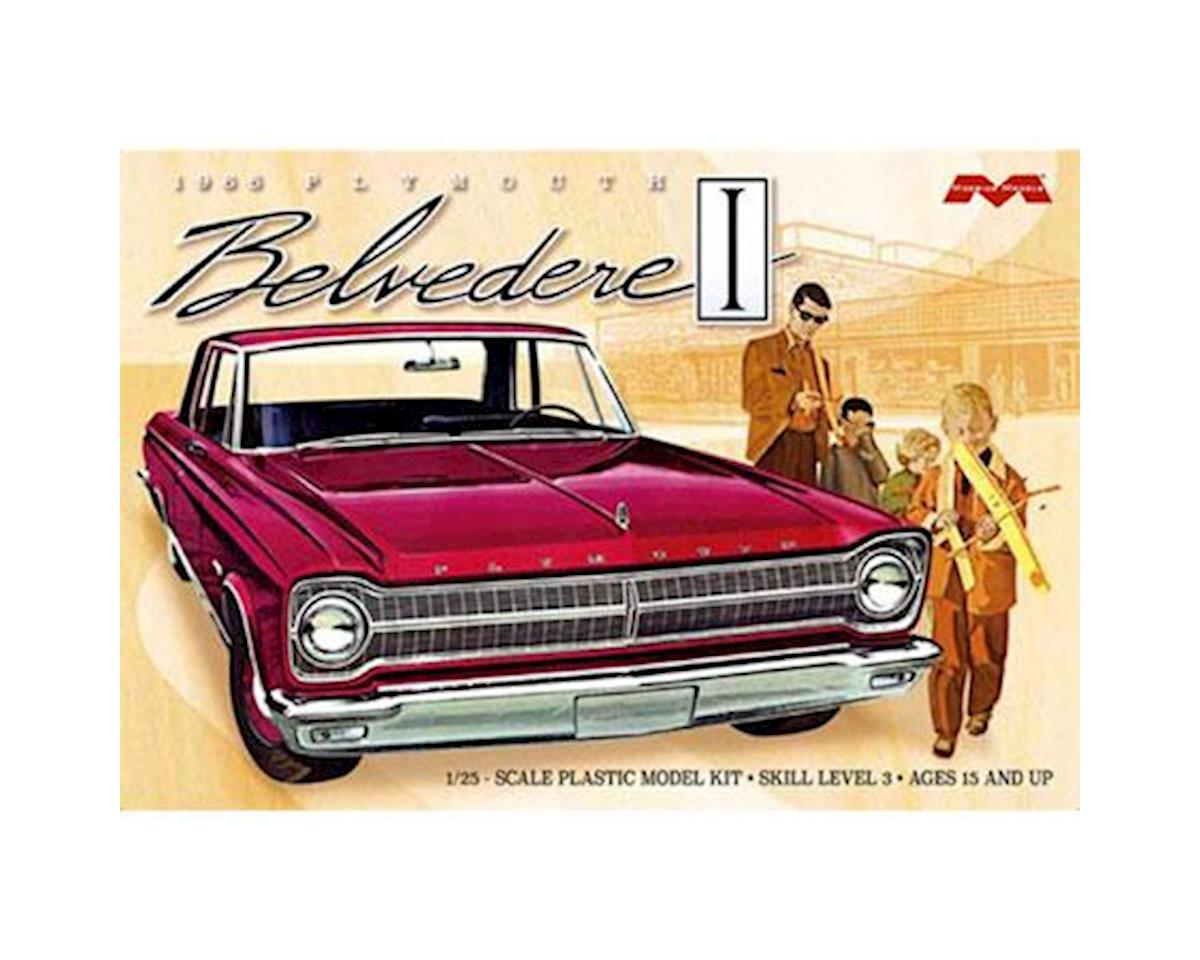 Moebius Model 1/25 1965 Plymouth Belvedere Model Kit