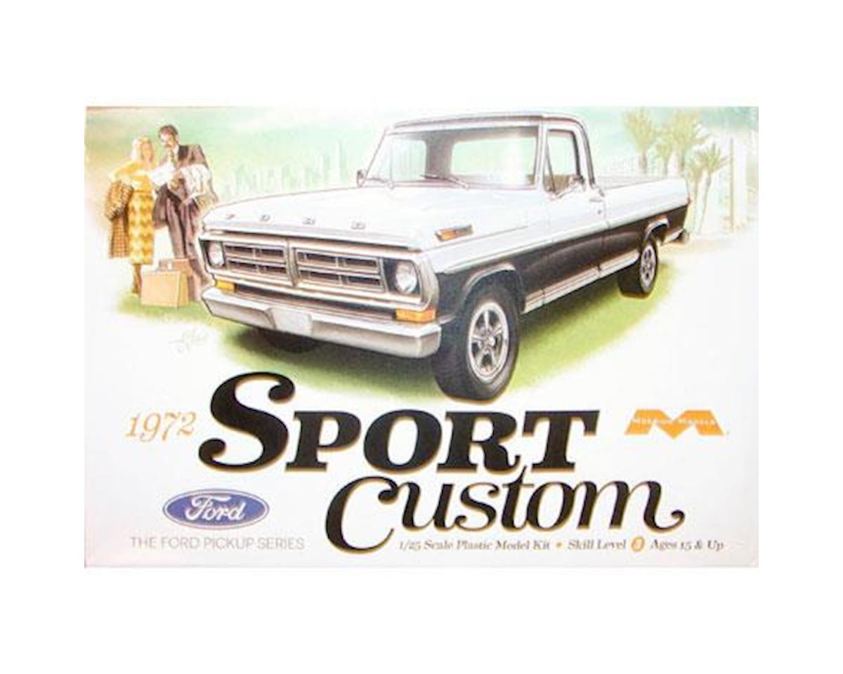 Moebius Model 1972 Ford Sport Custom Pickup Truck