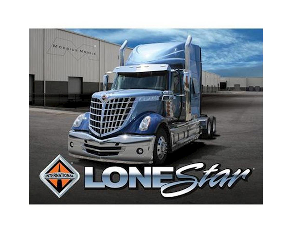 Moebius Model 1/25 2010 International Lonestar Semi Tractor Model Kit