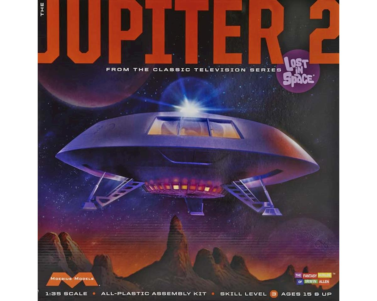 913 Lost in Space - Jupiter 2 by Moebius Model