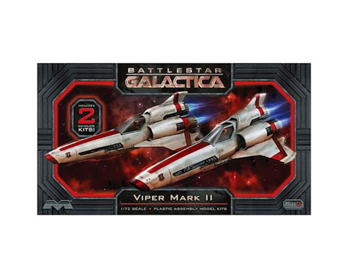 Moebius Model 1/72 Scale Battlestar Galactica Viper MkII Model Kit (2)