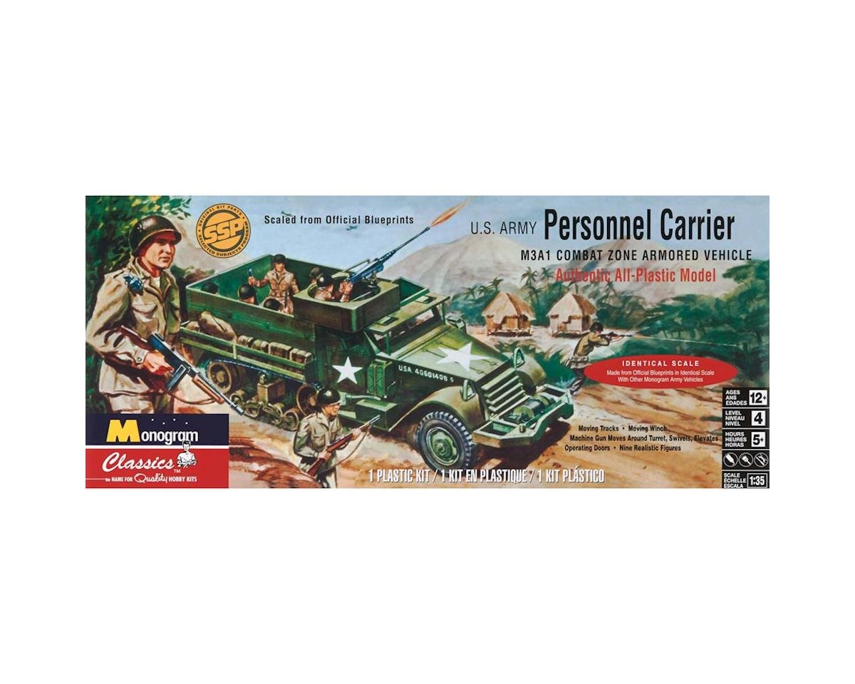 Monocle Games 850035 1/35 Personnel Carrier Half Track