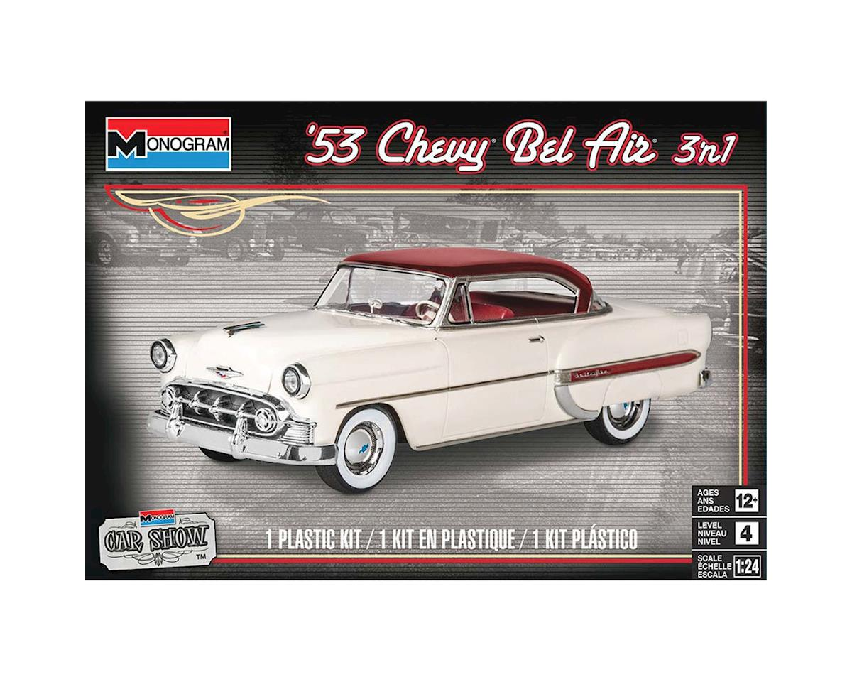 Monocle Games 854431 1/24 1953 Chevy Bel Air