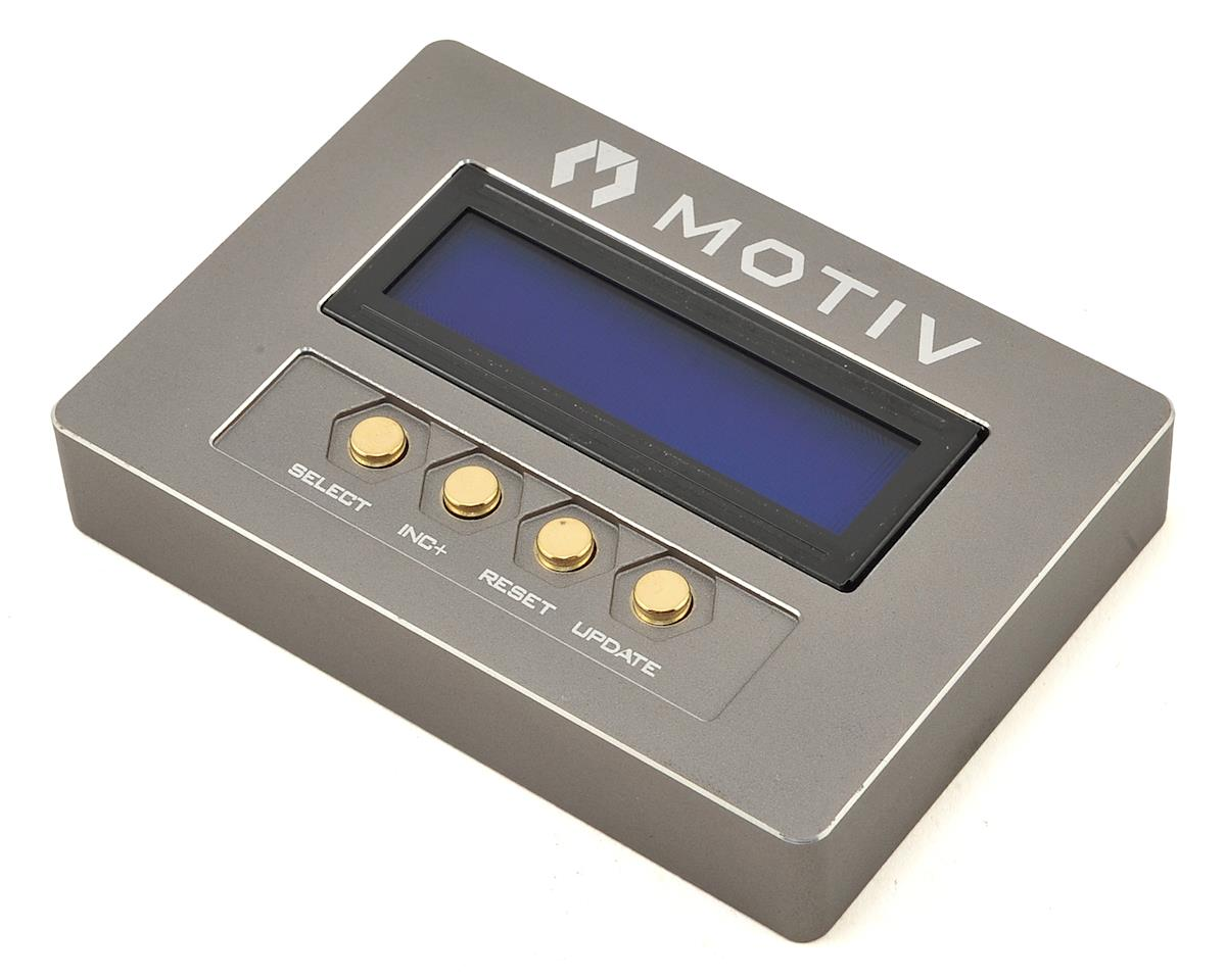"Motiv ""Incite"" Handheld ESC Program Box"