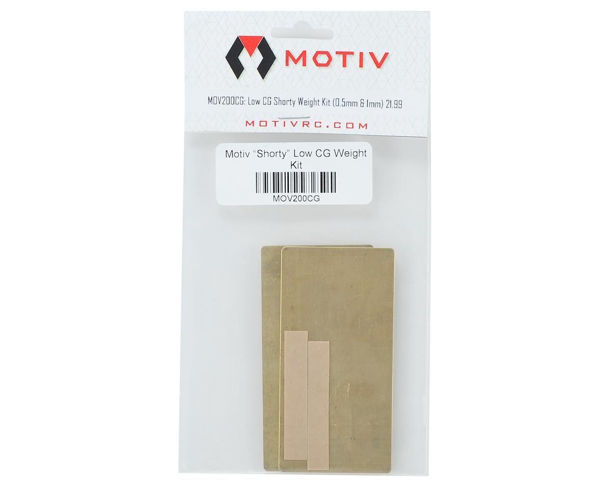 "Motiv ""Shorty"" Low CG Weight Kit"