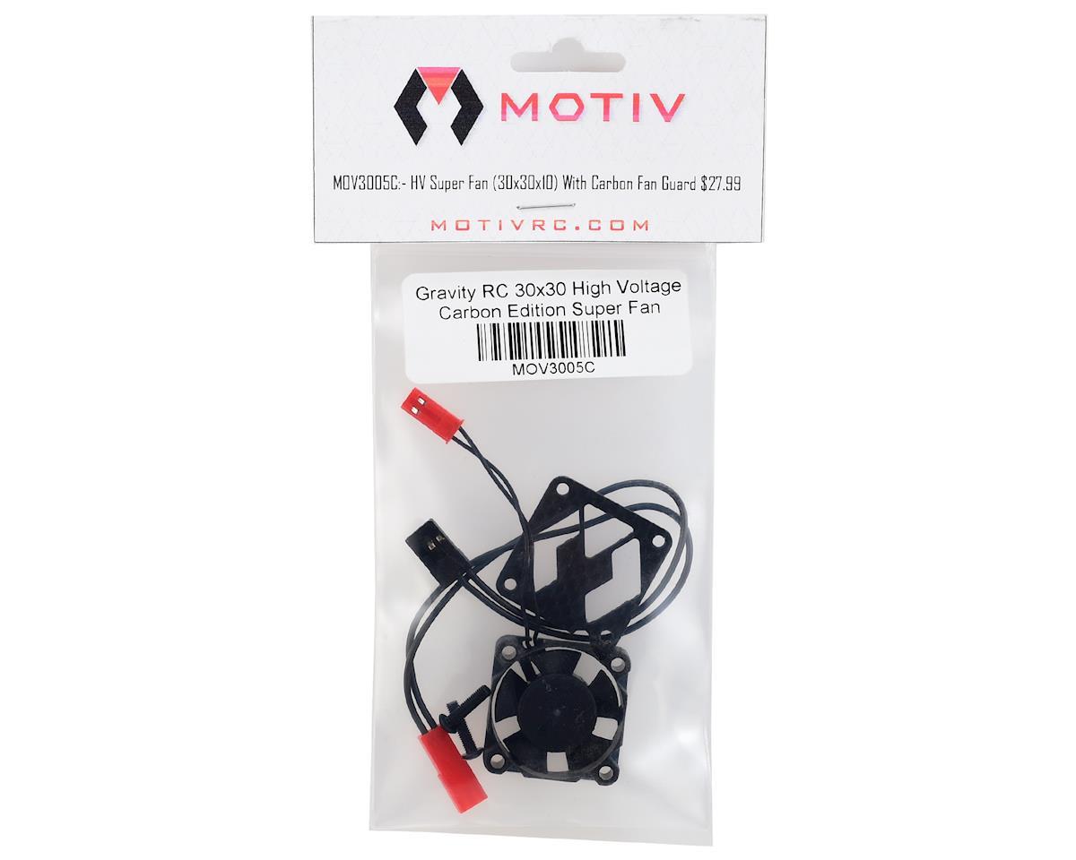 Motiv 30x30 High Voltage Carbon Edition Super Fan