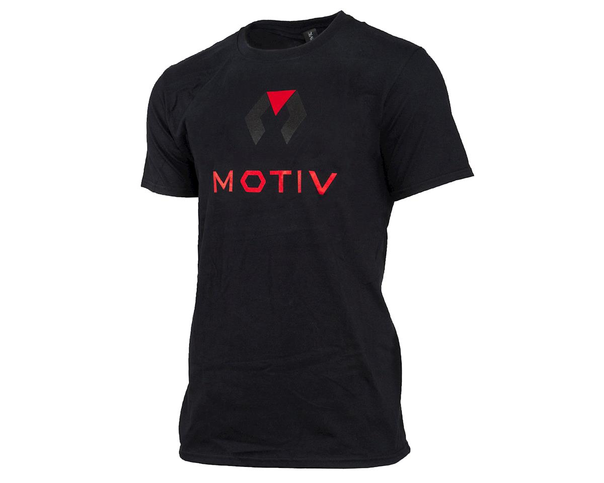 Motiv Signature Short Sleeve Shirt (Black) (L)