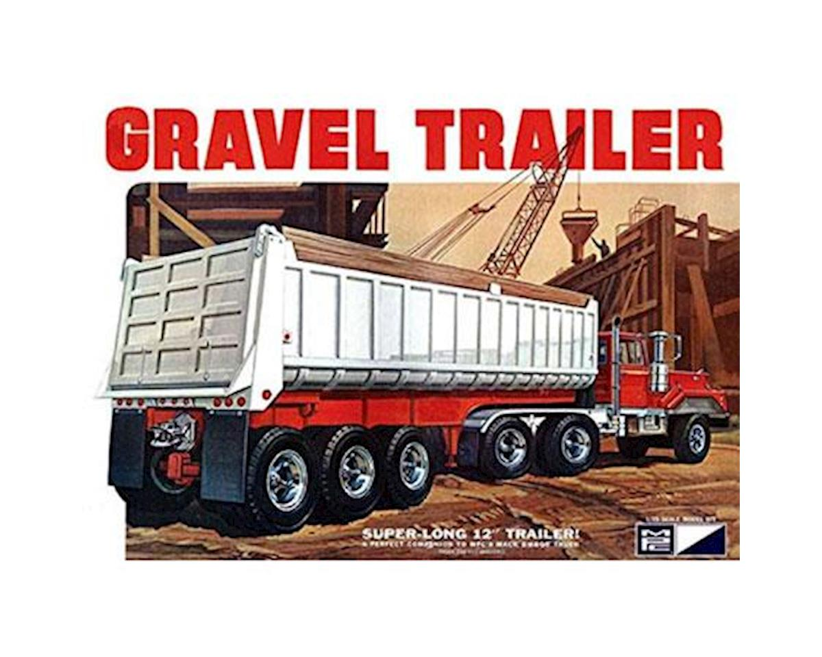 Round 2 MPC 1/25 3 Axle Gravel Trailer