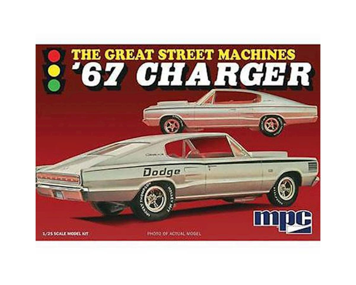 1/25 1967 Dodge Charger / Great Steet Machines by Round 2 MPC